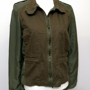 Lucky Brand jacket military tone color Sz M